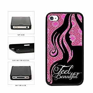 Pink Curls Feel Beautiful Plastic Phone Case Back Cover Apple iPhone 6 4.7 includes diy case Cloth and Warranty Label