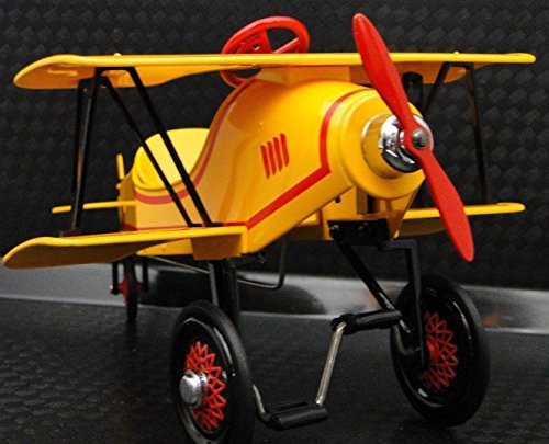 High End Collector Pedal Car 1 Vintage Airplane Plane Aircraft 48 Antique Ww1 1910S Biplane Stunt Race Midget Model 72 Investment Grade Classic Museum Quality Metal Collectible Not A Child Ride On Toy