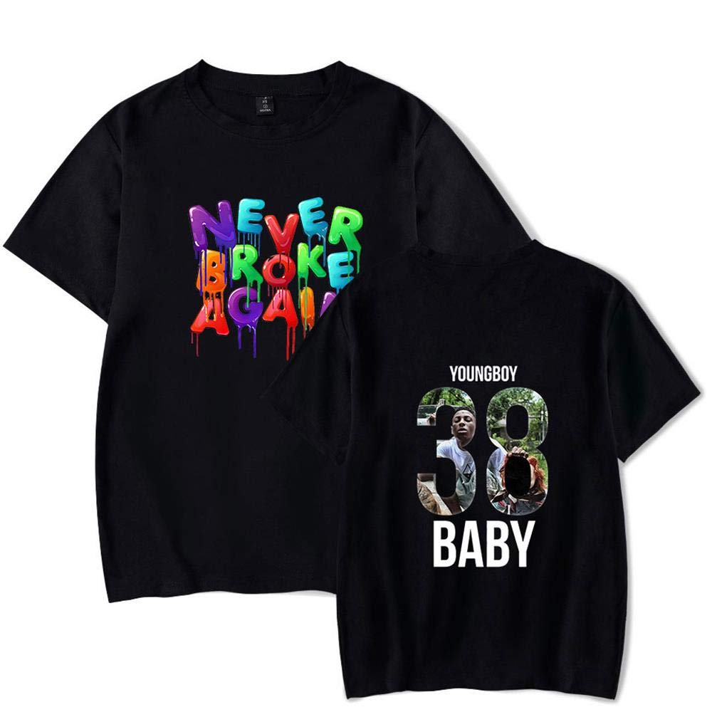 37b078d88f50 Rendechang NBA Youngboy Never Broke Again T-Shirts Unisex Youth Adult at  Amazon Men's Clothing store: