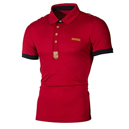 Amazon.com: YKARITIANNA 2019 Fashion Personality Mens Casual Slim Short Sleeve Striped T Shirt Top Blouse: Arts, Crafts & Sewing