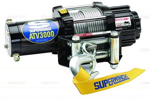 Superwinch - 1130220 - ATV/UTV Electric Winch, 1-1/5HP, 12VDC