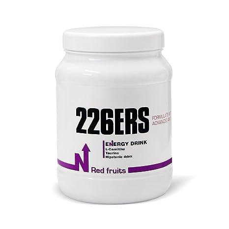226ERS Energy Drink Bebida Energética, Sabor Frutos Rojos - 600 gr
