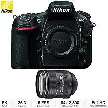 Nikon D810 36.3MP 1080p FX-Format DSLR Camera (Body Only) + 24-120mm f/4G ED VR AF-S NIKKOR Lens for Nikon DSLRs - (Certified Refurbished)