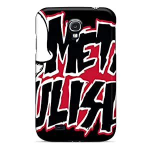 CharlesPoirier Samsung Galaxy S4 Shock Absorbent Hard Phone Covers Allow Personal Design Stylish Metal Mulisha Pictures [Dae15507brmt]