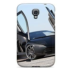 Hot New Black Lamborghini Case Cover For Galaxy S4 With Perfect Design