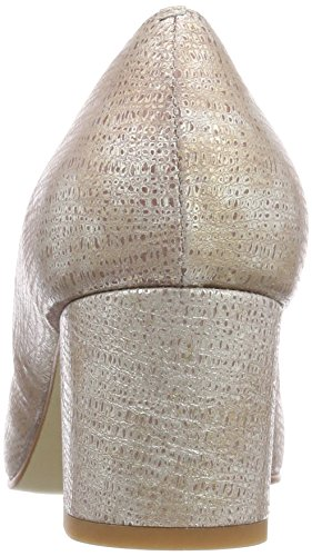 Noe Antwerp Nalle Pump, Scarpe col Tacco Punta Chiusa Donna Oro (Platino 1003)