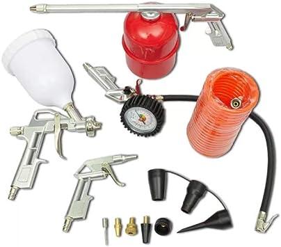 Kit de Herramienta de aire Pistola de pulverizaci/ón de pintura para Compresor