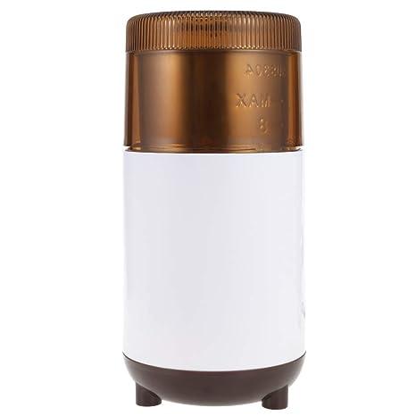 Shuzhen,Molinillo de café eléctrico molinillo de granos de la máquina (color:Camello