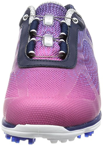 FootJoy Womens emPower BOA Golf Shoes, Navy/Plum, 98004 Previous Season Style