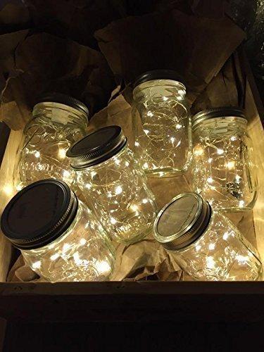 Mason Jar Lights   Fully Assembled With Mason Jar! (Outdoor Lightning,  Rustic,