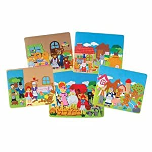 Amazon Com Classic Stories Flannel Board Set Toys Amp Games