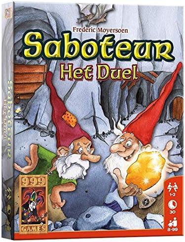 999Games Saboteur: Het Duel - Juego de Tablero: Amazon.es: Juguetes y juegos