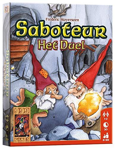 999 Games Saboteur: Het Duel - Juego de Tablero: Amazon.es ...