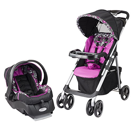 Evenflo Vive Travel System with Embrace, (Stroller Girl)