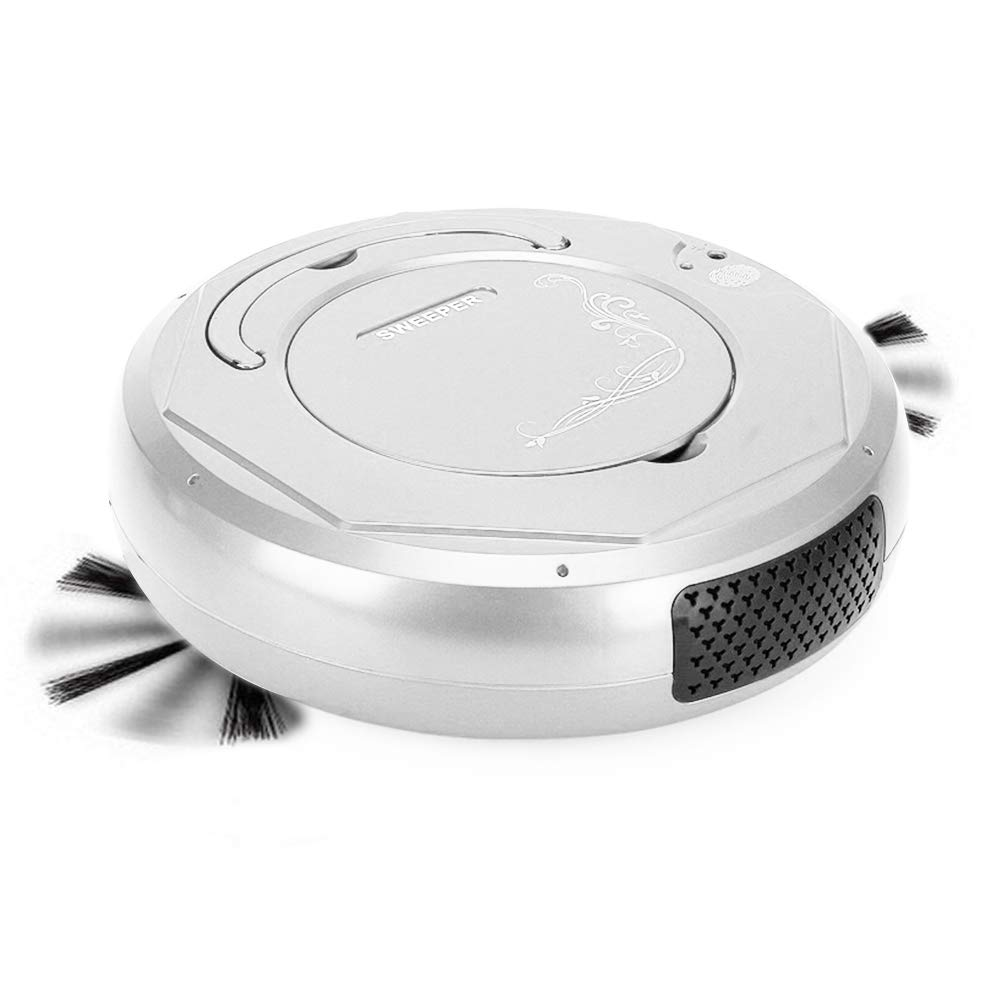 FOONEE Robot Vacuum Cleaner, 3 in 1 Automatic Sweeping Vacuuming & Mopping Ultra Slim Quiet Vacuum Cleaner,1500Pa Strong Suction & Anti-Collision Sensor for Hard Floor,Tile,Pet Hair and Carpets