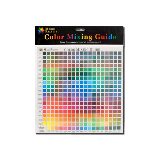 Color Wheel Personal Magic Palette Color Mixing Guide, 11-1/2 X 11-1/2 in - Color Mixing Guide