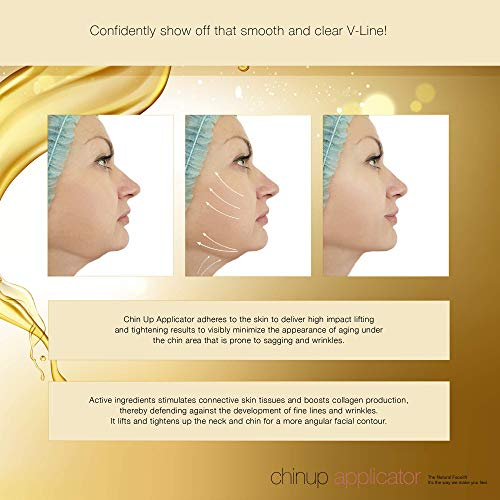 Ultimate Chin up Applicator, Face Wrap. It Works for Double Chin Reduction, Chin & Neck Slim, Shape and Firming. (10 Masks) 5