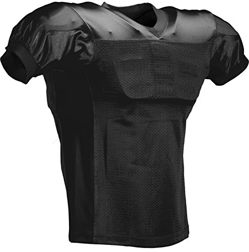 FOOTBALL AMERICA Youth Game Jersey Medium Black
