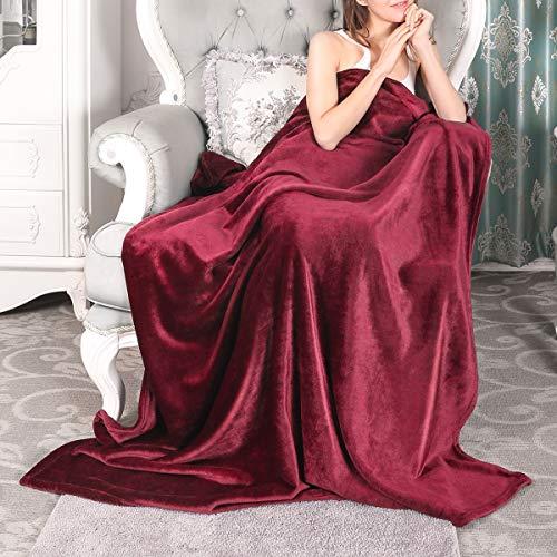 (VANZAVANZU Fleece Throw Blanket - 300GSM Flannel All Season 50