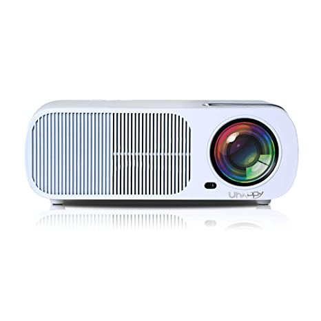JYL Proyector de Video Mini Android 4.4 Proyector WiFi Proyector ...