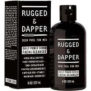 Amazon Com Daily Power Scrub Facial Cleanser For Men 8