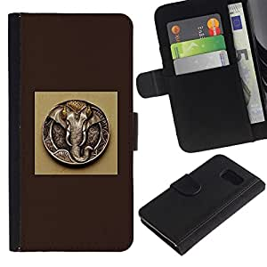 NEECELL GIFT forCITY // Billetera de cuero Caso Cubierta de protección Carcasa / Leather Wallet Case for Sony Xperia Z3 Compact // Ganesh Dios Elefante