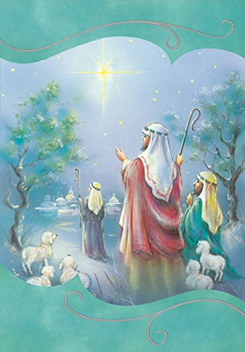 Religious Christmas Card Designs.Amazon Com Following The Star Designer Greetings Box Of