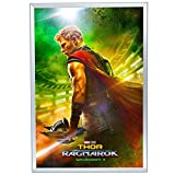 5-Pack, Movie Poster Frame 24x36 Inches, Silver SnapeZo 1.25'' Aluminum Profile, Front-Loading Snap Frame, Wall Mounting, Professional Series
