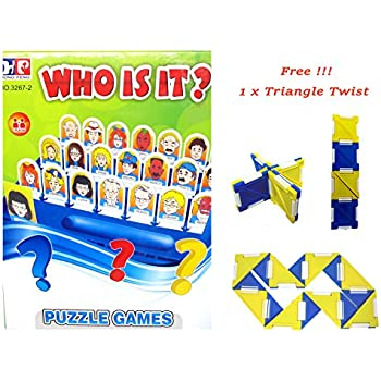 Amazon Who Is It Board Game Guess Who Classic Kid Puzzle Board