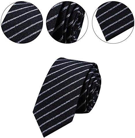 JUNGEN Corbata de Informal para Hombres con Estampada de Rayas ...