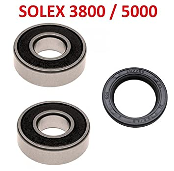 Amazon Fr Solex 2200 3300 3800 5000 Kit Roulement 6202