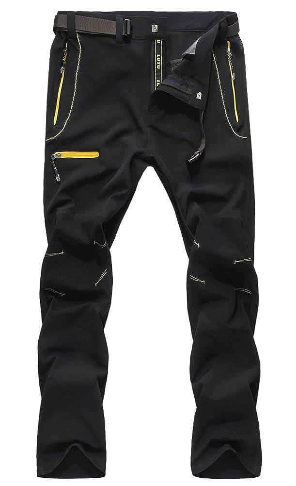 Chickle Men's Active Outdoor Nylon Waterproof Dry Bike Wear Shell Pants