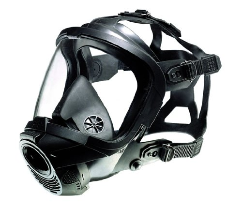 German Civilian Draeger FPS 7000 Full Face Mask, Medium, Highly Chemically Resistant EPDM Rubber. Excellent  for Hazardous Conditions With Poor Visibility by Drager (Image #3)