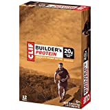 CLIF BUILDER'S - Protein Bar - Chocolate Peanut Butter - (2.4 Ounce Non-GMO Bar, 12 Count)