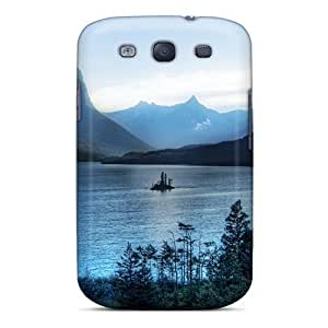 Hot Morning At Glacier National Park First Grade Tpu Phone Case For Galaxy S3 Case Cover