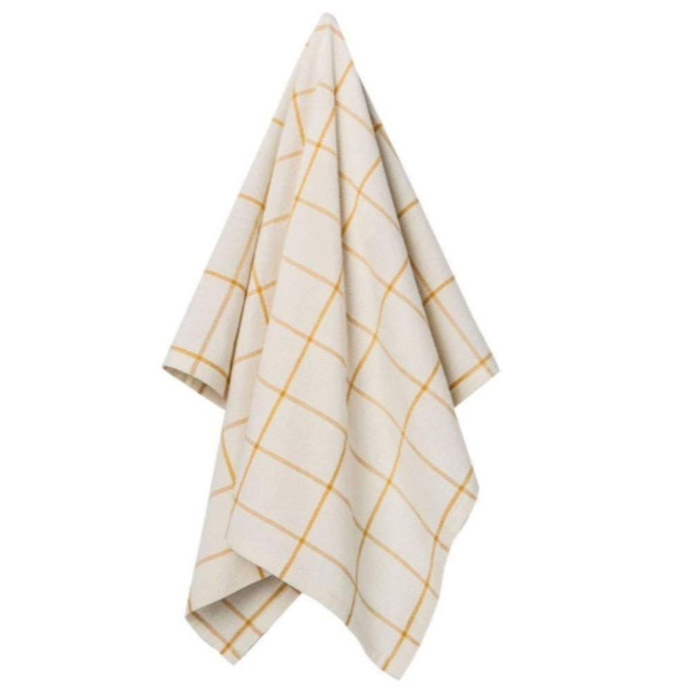 Hearth and Hand with Magnolia Woven Floursack Towel Golden Yellow Joanna Gaines Collection Limited Edition