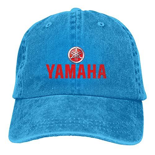 Customized Yamaha Motorcycles Logo Geek Baseball Caps for Mens Blue