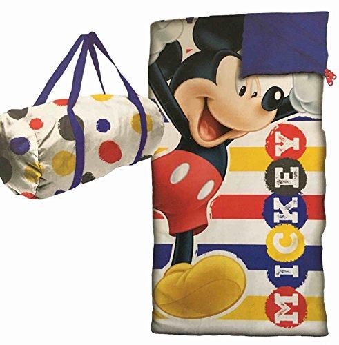 Mickey And The Roadster Racers Barrel Bag and Slumber Sack Sleeping Bag
