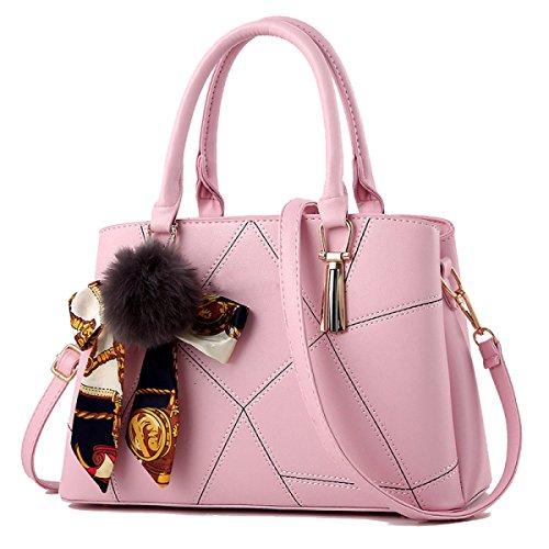 Della Grande Zhi Spalla Pink Capacità Di Wu Borsa qxzHnUwE