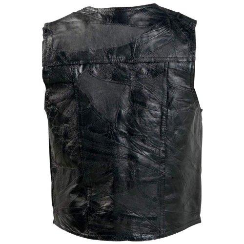 Giovanni Navarre™ Italian Stone™ Design Genuine Leather Vest ()