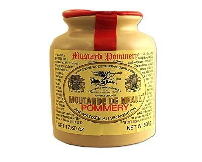 Pommery Moutarde De Meaux Mustard in Stone Jar - 500 Gram from Pommery