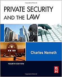 Private Security And The Law Fourth Edition