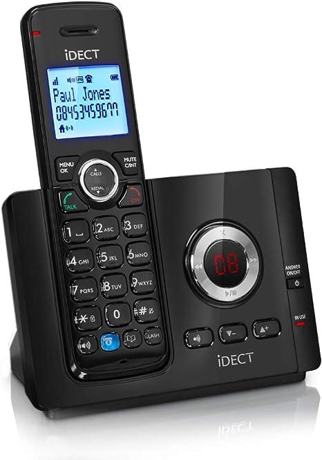Binatone Vantage 9325 Single DECT Cordless Phone Answering Machine with Call Blocker {5012786802346}: Amazon.es: Electrónica