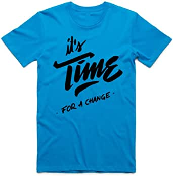it's Time for a Change T-Shirt For Men - size XL
