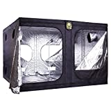 Helios 120'' x 120'' x 80'' Grow Tent – Indoor Mylar Hydroponic Plant Growing Room
