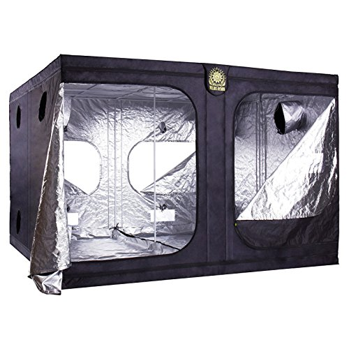 Helios 120'' x 120'' x 80'' Grow Tent – Indoor Mylar Hydroponic Plant Growing Room by Helios Hydro