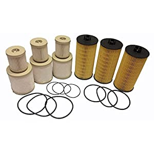2003 - 2007 Ford 6.0L FD4616 Diesel Fuel and Engine Oil Filter 2016 (pack of 3 each) ADT-60-FL2016 FD-4616 Ford F250 F350 F450 F550 updated FD-4616 Replacements