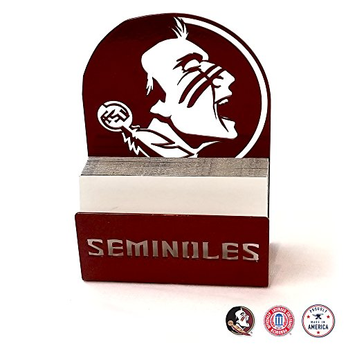 Gameday Ironworks Florida State Seminoles Steel Business Card Holder