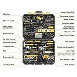 DEKOPRO 168 Piece Socket Wrench Auto Repair Tool