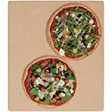 American Metalcraft Rectangular Terra Cotta Pizza Stone - 16inch L x 14inch W x 7/8inch H